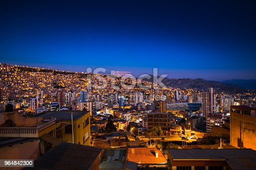 City Of La Paz Stock Photo & More Pictures of Bolivia