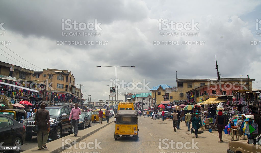 City of Lagos, Nigeria stock photo