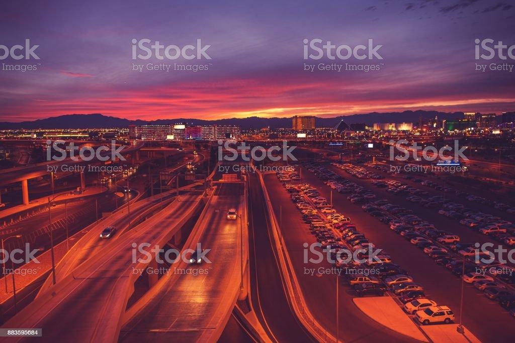 City of Las Vegas Nevada stock photo