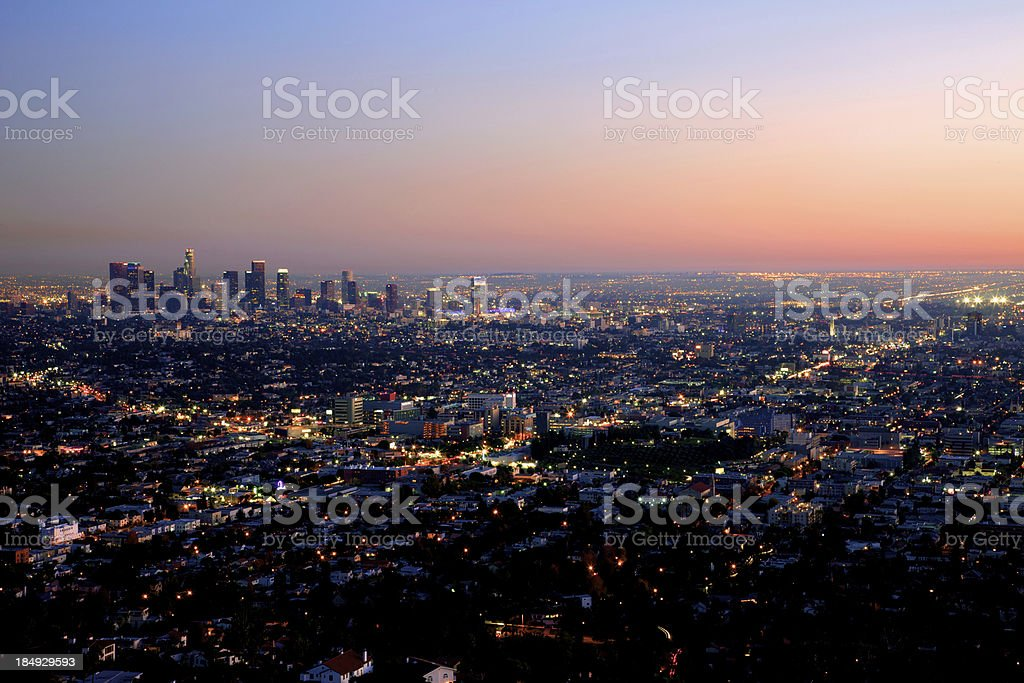 City of Lights royalty-free stock photo