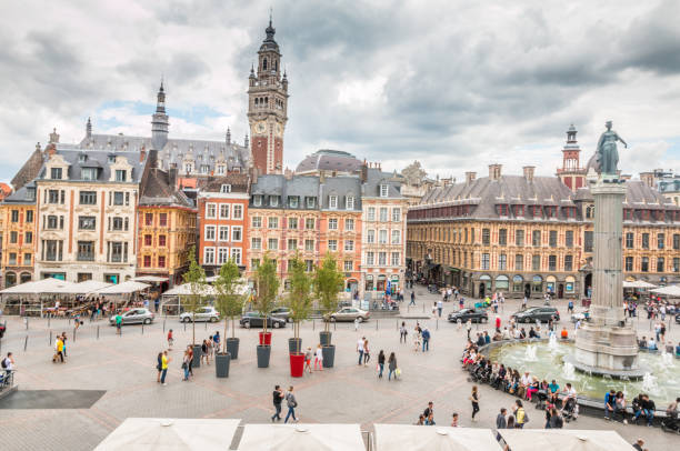 City of Lille Lille France hauts de france stock pictures, royalty-free photos & images