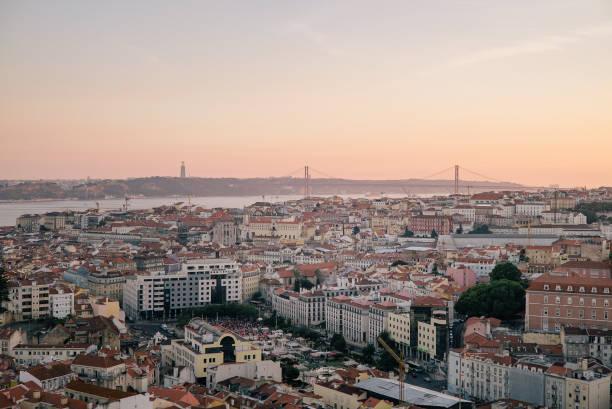 City of Lisbon (Portugal) stock photo