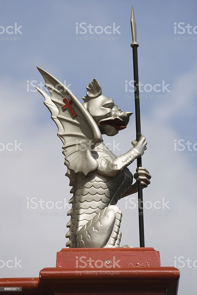City of London Dragon royalty-free stock photo