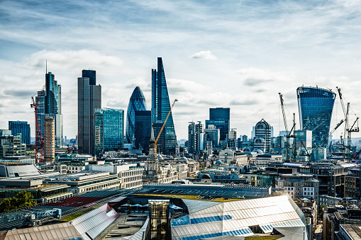 City Of London London Uk Stock Photo - Download Image Now