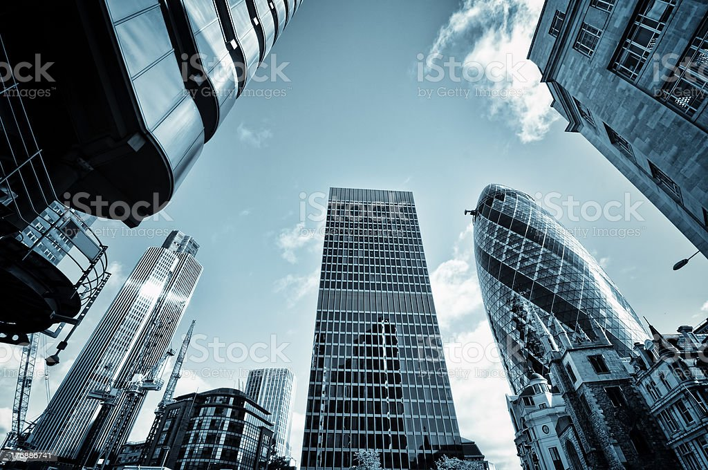 City of London. stock photo