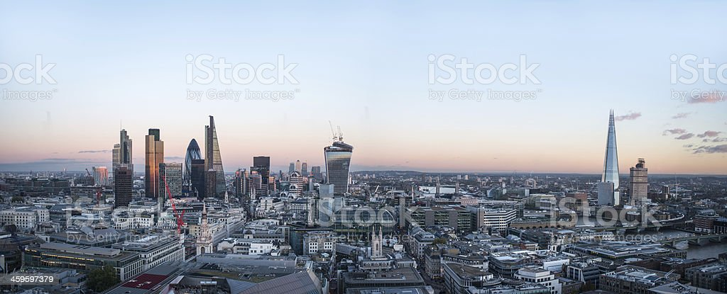 City of London stock photo