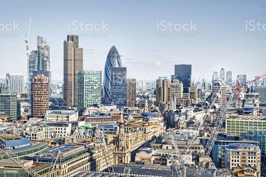 City of London. royalty-free stock photo