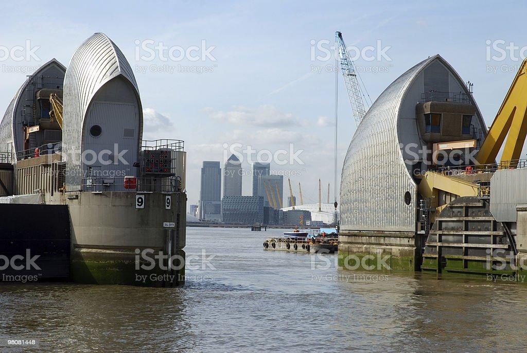City of London royalty-free stock photo