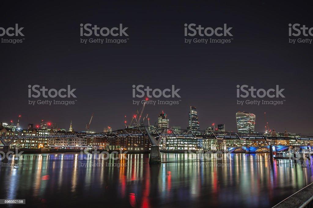 City Of London Skyline. royalty-free stock photo
