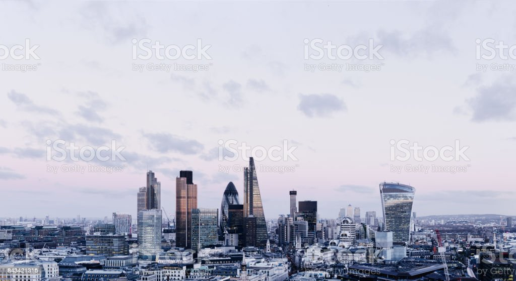 City Of London Skyline stock photo