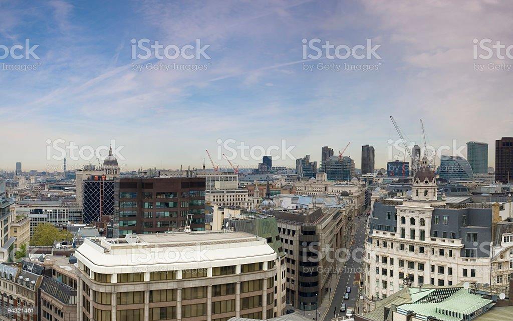 City of London skyline royalty-free stock photo