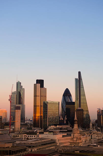 City of London Sonnenuntergang – Foto