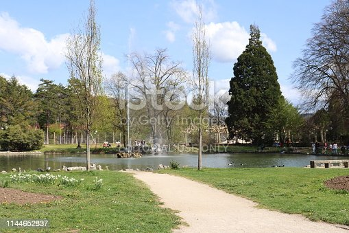 City of Lons Le Saunier - Department of Jura - France - Park named