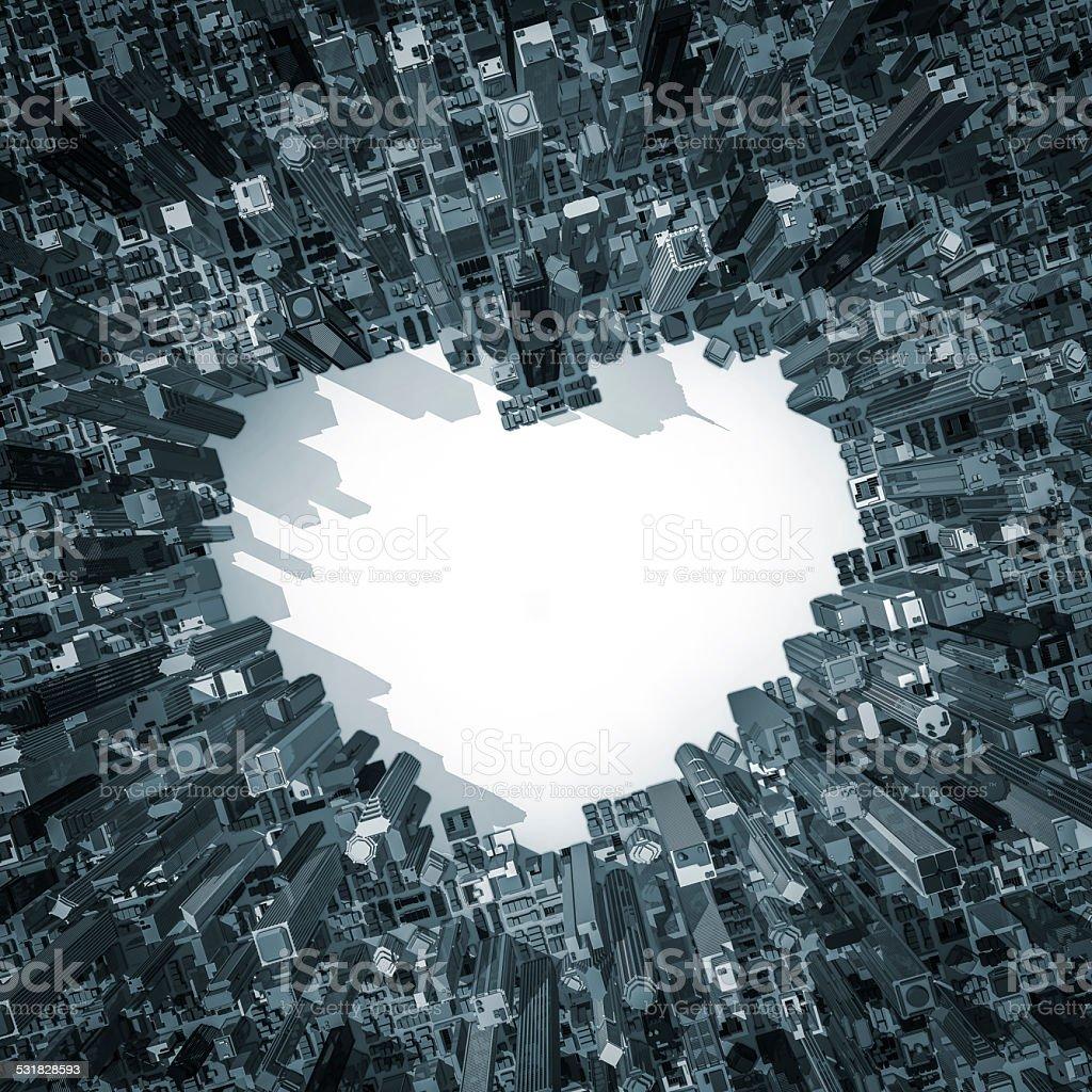 City of love 2 stock photo