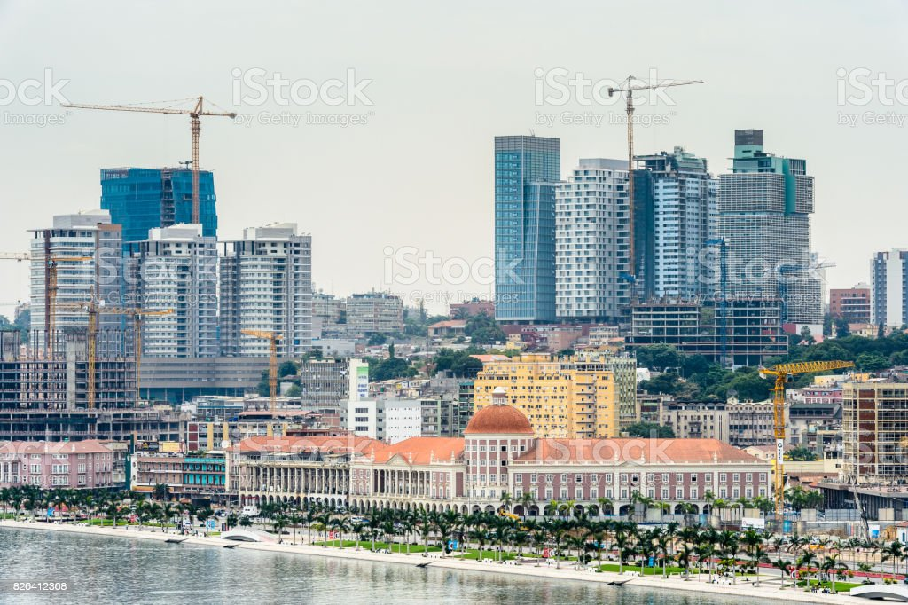 City of Luanda, Angola stock photo