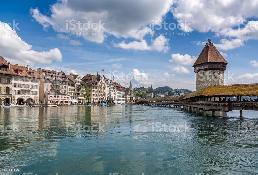 City of Lucerne, Switzerland stock photo