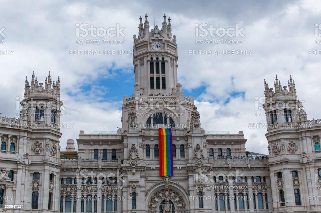 City of Madrid stock photo