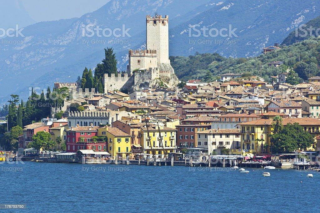 City of Malcesine stock photo