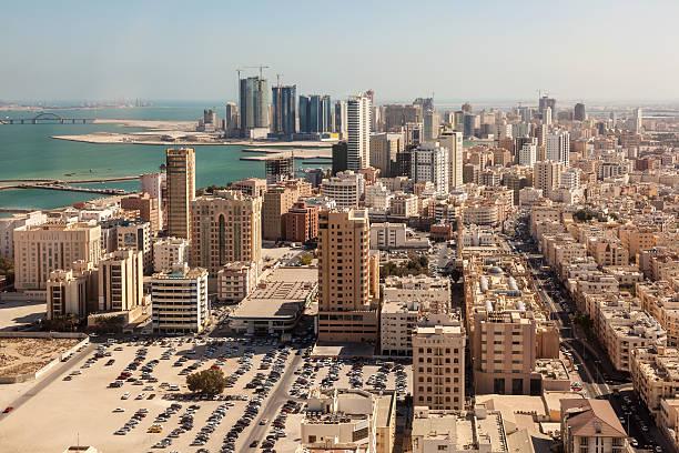Stadt von Manama, Bahrain – Foto