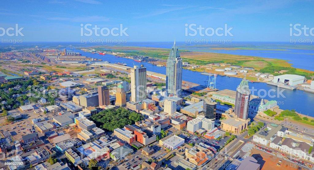 Stadt Von Mobile Alabama Stockfoto Und Mehr Bilder Von Alabama Istock