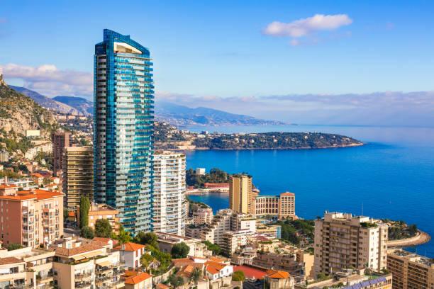 City of Monaco stock photo