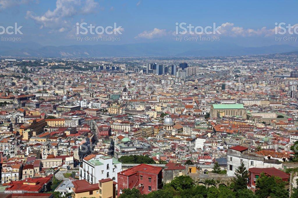 City of Naples zbiór zdjęć royalty-free