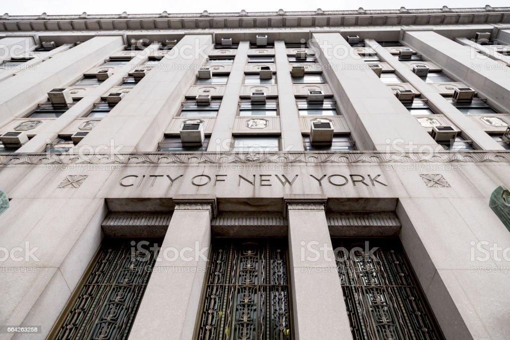 City of New York stock photo