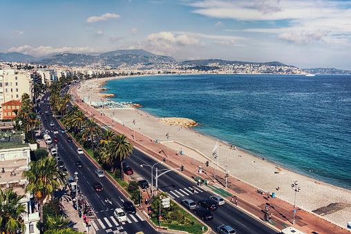 City of Nice in summer