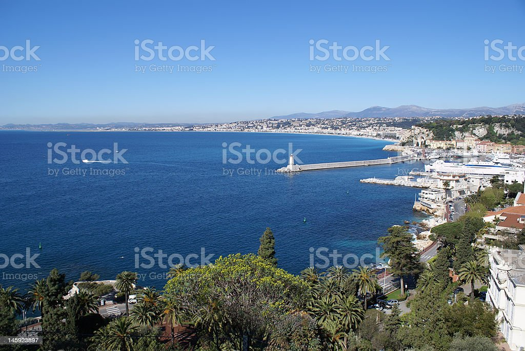 City of Nice royalty-free stock photo
