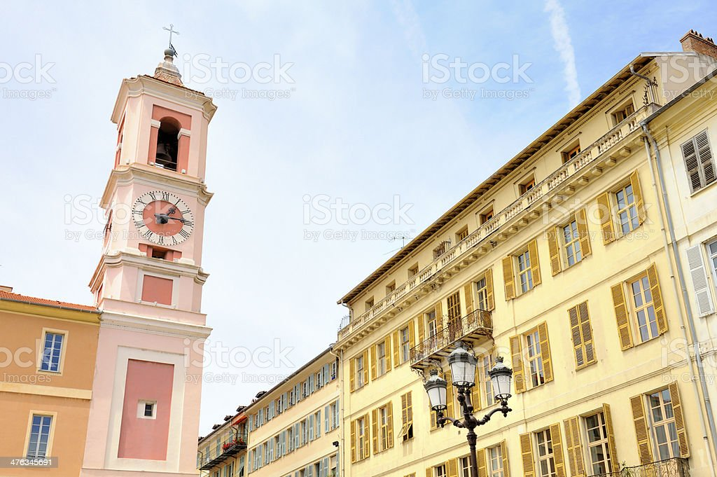 City of Nice royalty-free stock photo