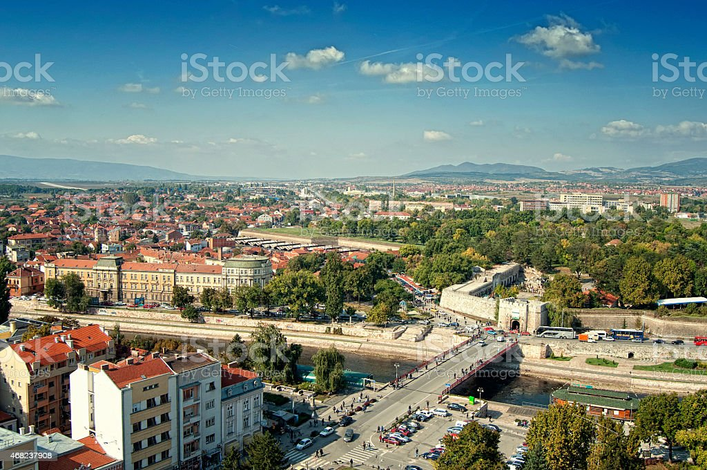 City of Nis, Serbia stock photo