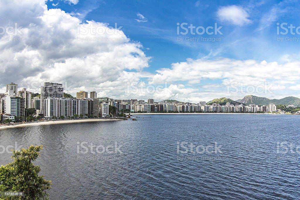 City of Niteroi, Brazil stock photo