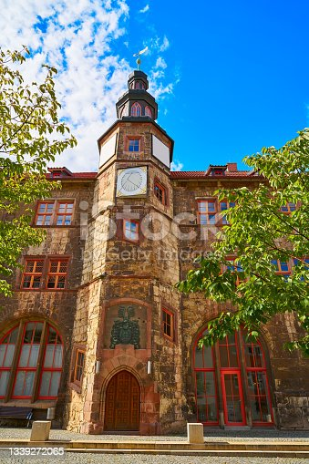 istock City of Nordhausen Town Hall Thuringia Germany 1339272065
