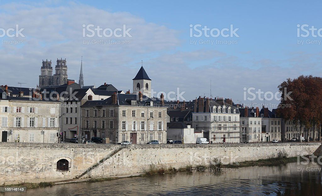 City of Orléans, France stock photo