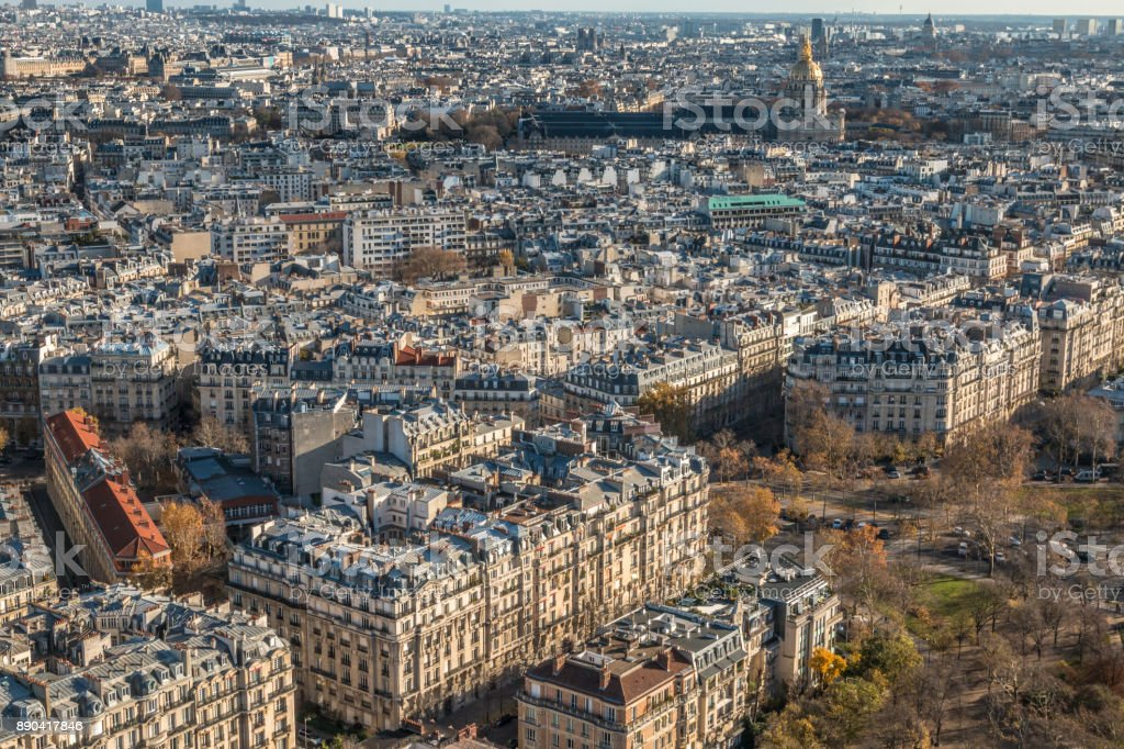 City of Paris stock photo