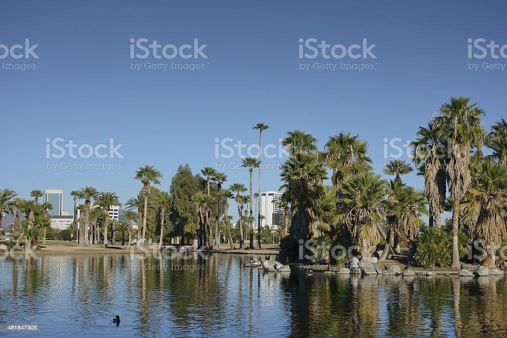 City of Phoenix Downtown, AZ royalty-free stock photo