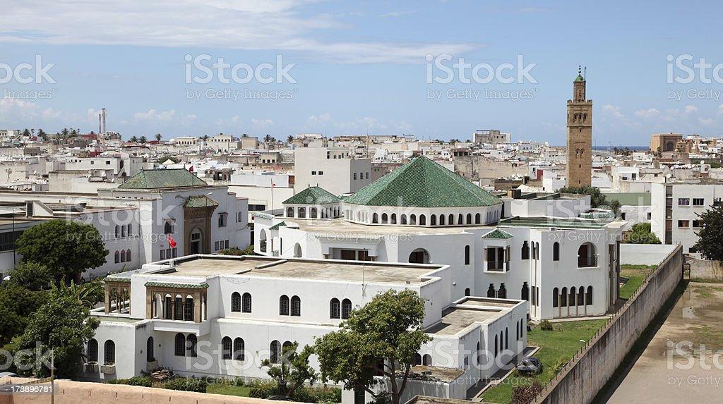 City of Rabat, Morocco stock photo