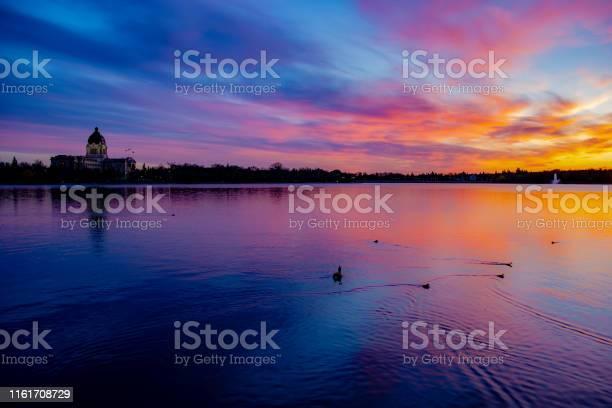 Photo of City of Regina Skyline in Spring