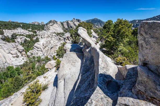 City of Rocks, Idaho stock photo