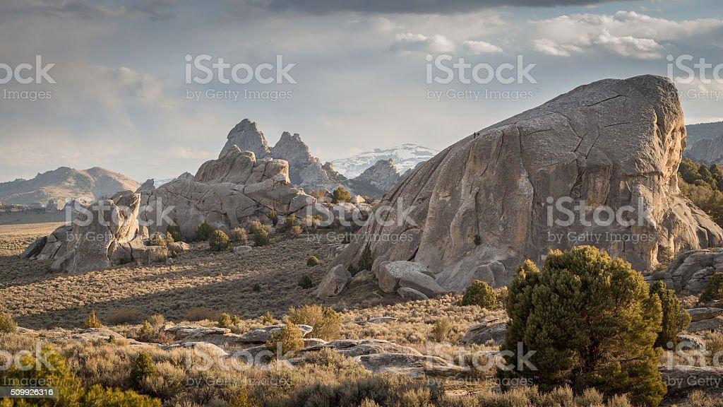 City of Rocks stock photo