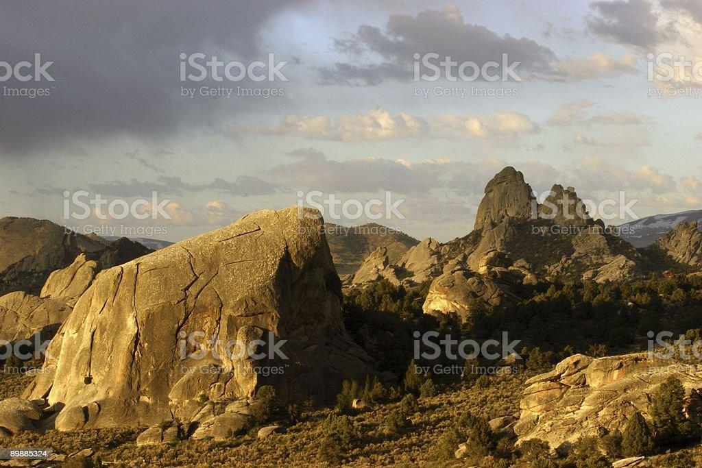 City of Rocks royalty-free stock photo
