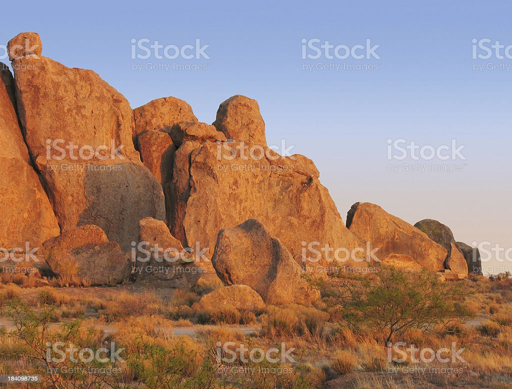 City of Rocks State Park royalty-free stock photo
