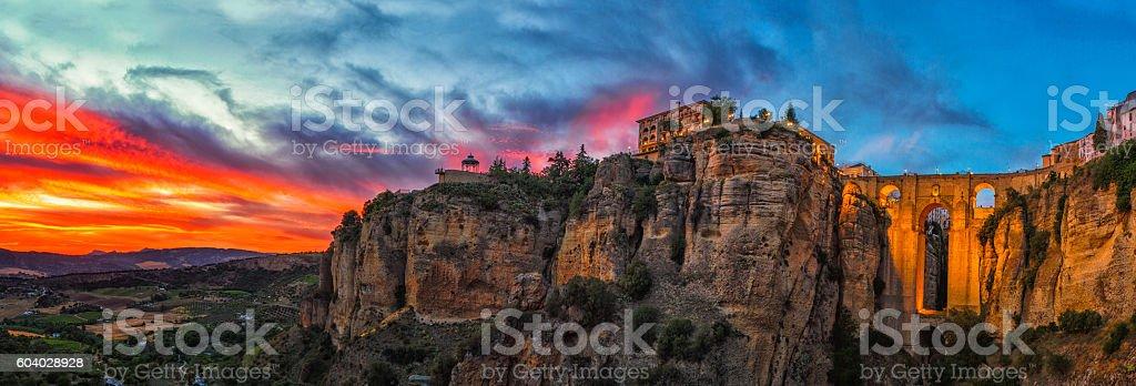 City of Ronda. stock photo