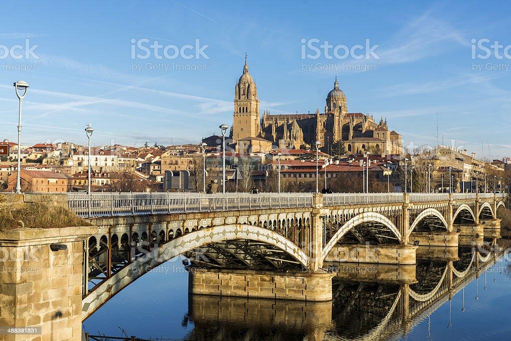 City of Salamanca, Spain stock photo