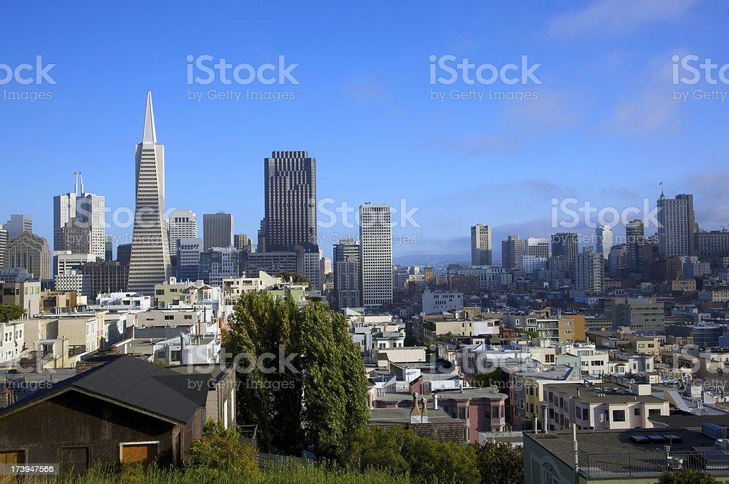 Stadt von San Francisco – Foto