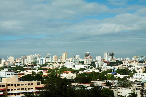 City of Santo Domingo stock photo