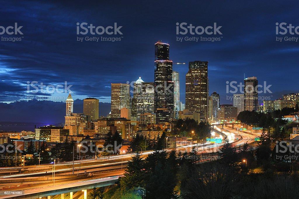 City of Seattle stock photo