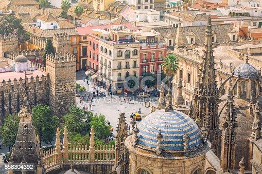 istock City of Seville, Spain 856304392