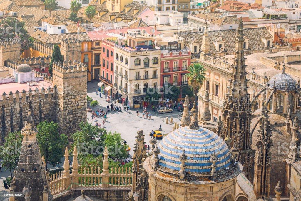 City of Seville, Spain stock photo