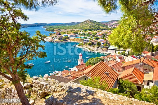 istock City of Sibenik coast view 499287824